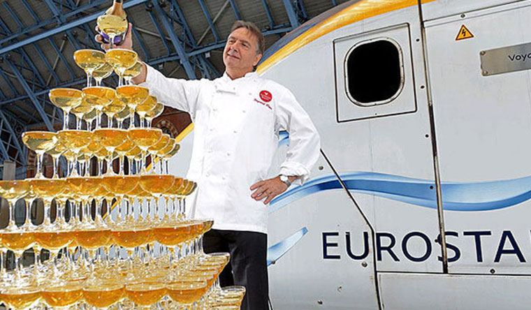 Anniversaries and celebrations. Eurostar. Largest Champagne tasting Event. Guinness World Records