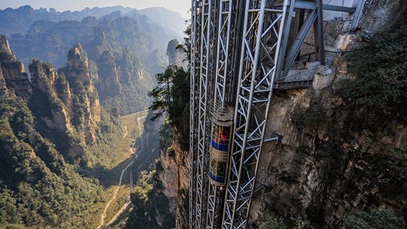 Tallest Outdoor elevator 3