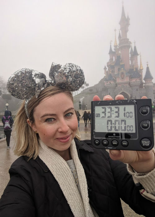 Fastest time to visit all Disney theme parks 5