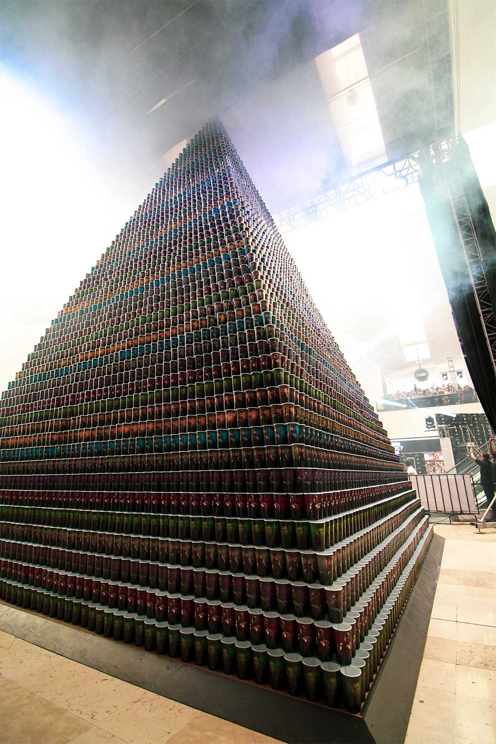 Largest Pyramid Cup 7