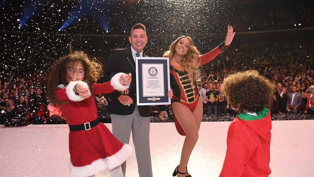 """All I Want For Christmas Is You"" el sencillo de Mariah Carey rompió récord mundial"