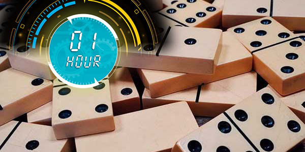 one hour domino toppling record
